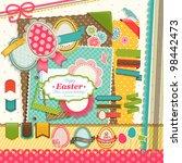Easter Scrapbook Elements....