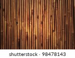 bamboo texture with natural patterns - stock photo