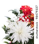 flower bouquet. isolated on... | Shutterstock . vector #98479337