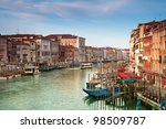 Grand Canal at early morning. - stock photo