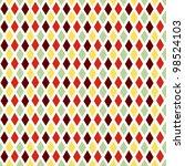 seamless geometric diamond | Shutterstock .eps vector #98524103