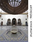 Medersa Ben Youssef Koran school, Marrakesh - stock photo