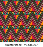 Abstract Ethnic Seamless...