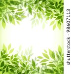 Abstract Background With Green...