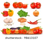 the big colorful collection of... | Shutterstock .eps vector #98613107