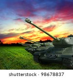tanks - stock photo