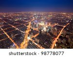 aerial view of the bright... | Shutterstock . vector #98778077
