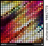abstract colorful background.... | Shutterstock .eps vector #98817773