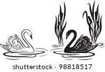 Vector Illustration Of White...