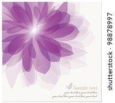 Romantic Flower Background....