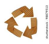 cardboard recycling   Shutterstock . vector #98879513