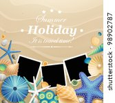 pictures  shells and starfishes ...   Shutterstock .eps vector #98902787