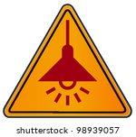 vector triangular road sign...   Shutterstock .eps vector #98939057