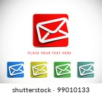 icons set for web applications  ... | Shutterstock .eps vector #99010133