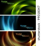 Abstract Vector Banners With...