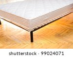 mattress in the room - stock photo