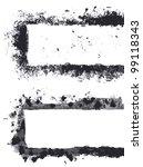 grunge frame | Shutterstock .eps vector #99118343
