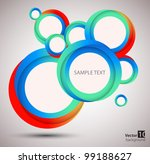 abstract circle  background.... | Shutterstock .eps vector #99188627