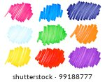 detailed macro of very bright... | Shutterstock . vector #99188777
