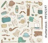 Gentlemen's Accessories Doodle...