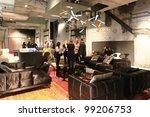 milan   april 13  people visit... | Shutterstock . vector #99206753