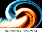 fantastic elegant and powerful... | Shutterstock . vector #99209963