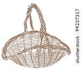 Wicker Basket. It Is  The Basi...