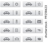 auto service signs and icons... | Shutterstock .eps vector #99258623