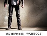 Man fashion - stock photo