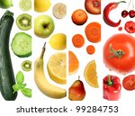colorful fruit | Shutterstock . vector #99284753
