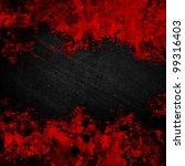 Grunge Background With Splash...