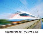 High Speed Commuter Train....