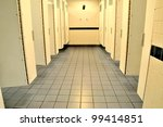 Public washroom facilities - stock photo