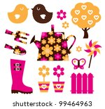 garden objects   design...   Shutterstock .eps vector #99464963