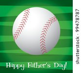 bright baseball happy father's... | Shutterstock .eps vector #99478787