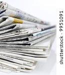 newspapers series | Shutterstock . vector #9951091