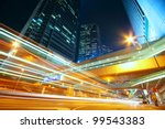 downtown city night | Shutterstock . vector #99543383