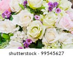 colorful artificial roses | Shutterstock . vector #99545627