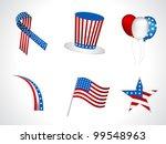 sets of objects like hat ... | Shutterstock .eps vector #99548963