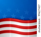 usa background | Shutterstock .eps vector #99627407