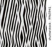 zebra skin texture | Shutterstock . vector #9965941