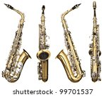 four angles of a classical alto ... | Shutterstock . vector #99701537