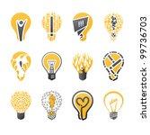 Light Bulb Idea. Collection Of...