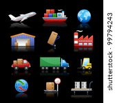 industry   logistics icons   ... | Shutterstock .eps vector #99794243