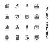 business office icons   Shutterstock . vector #99853967