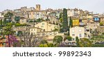 Small photo of View of Biot, south of France