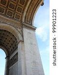 arc de triumph  the famous...   Shutterstock . vector #99901223