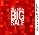 big sale background with... | Shutterstock .eps vector #99907157