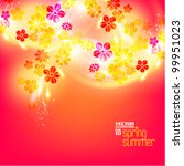 beautiful stylish digital... | Shutterstock .eps vector #99951023