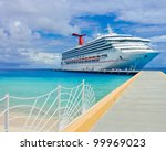 the passenger ship in port. | Shutterstock . vector #99969023